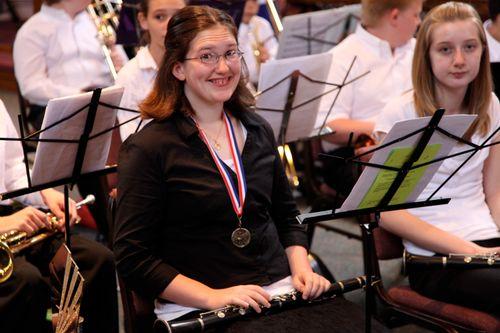 Emily band recital may 09_18
